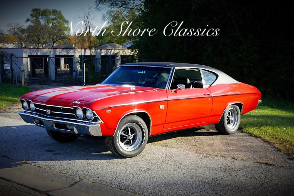 Photo 1969 Chevrolet Chevelle -REAL SS 396-HUGGER ORANGE-WITH 4 SPEED- SEE VIDEO