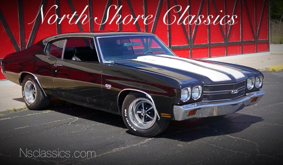 Photo 1970 Chevrolet Chevelle -NEWER BLACK PAINT-BIG BLOCK 454 ENGINE-SLICK-SEE VIDEO-