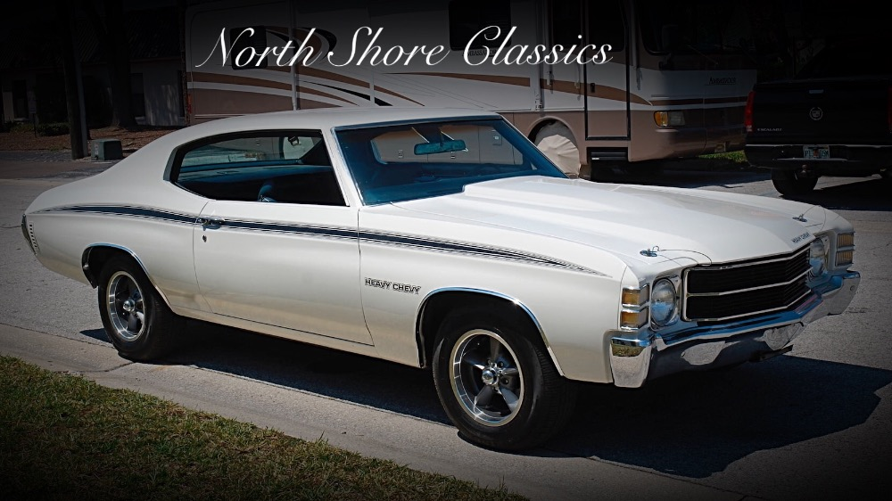Photo 1971 Chevrolet Chevelle -HEAVY CHEVY-CLEAN RUST FREE-GREAT DRIVER- SEE VIDEO