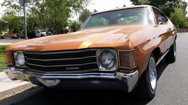 Photo 1972 Chevrolet Chevelle ROCK SOLID RUST FREE ARIZONA-NUMBERS MATCHING