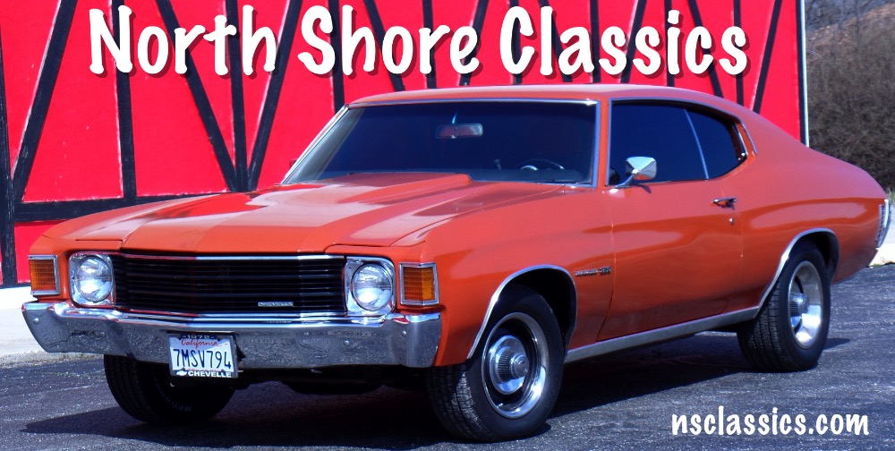 Photo 1972 Chevrolet Chevelle From California- BLACK PLATE CAR SINCE 72-Rust Free- WOW