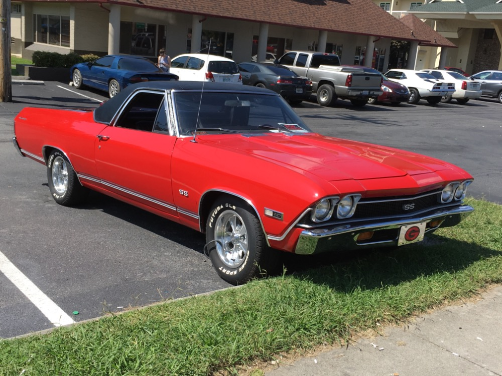 Photo 1968 Chevrolet El Camino -SS TRIM-NICE PICK UP FROM THE SOUTH-WITH 4 SPEED TRANS-FREE DELIVERY