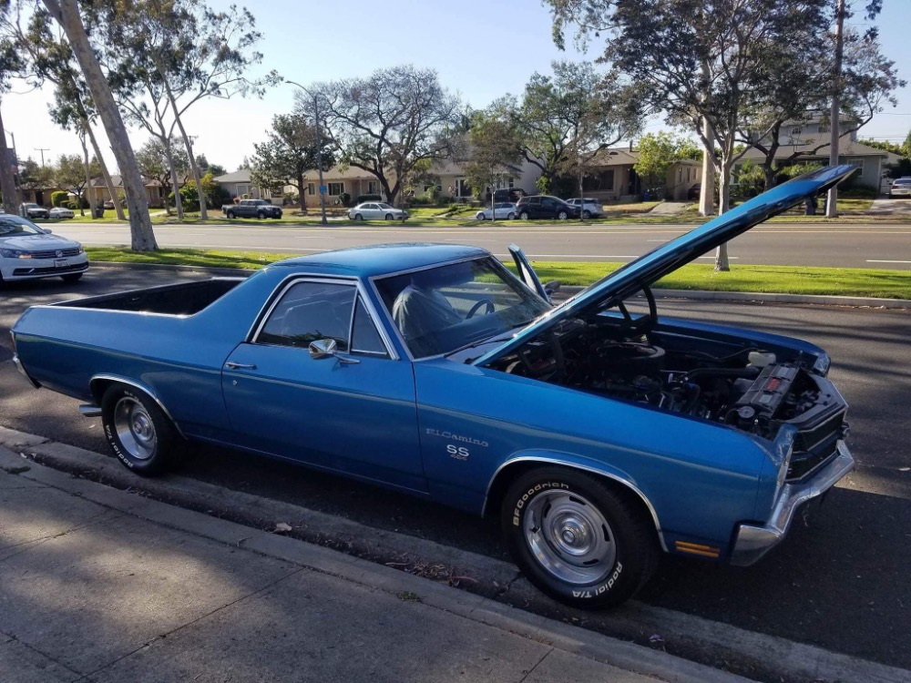 Photo 1970 Chevrolet El Camino -Big block 454Fast and Loud from California-See Video