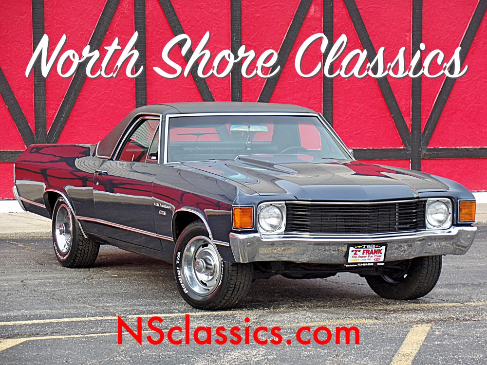 Photo 1972 Chevrolet El Camino REBUILT NUMBERS MATCHING CHEVY-VERY RELIABLE