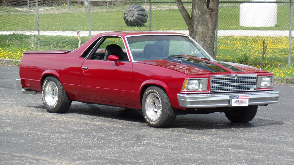 Photo 1979 Chevrolet El Camino CANDY APPLE RED SHOW CAR
