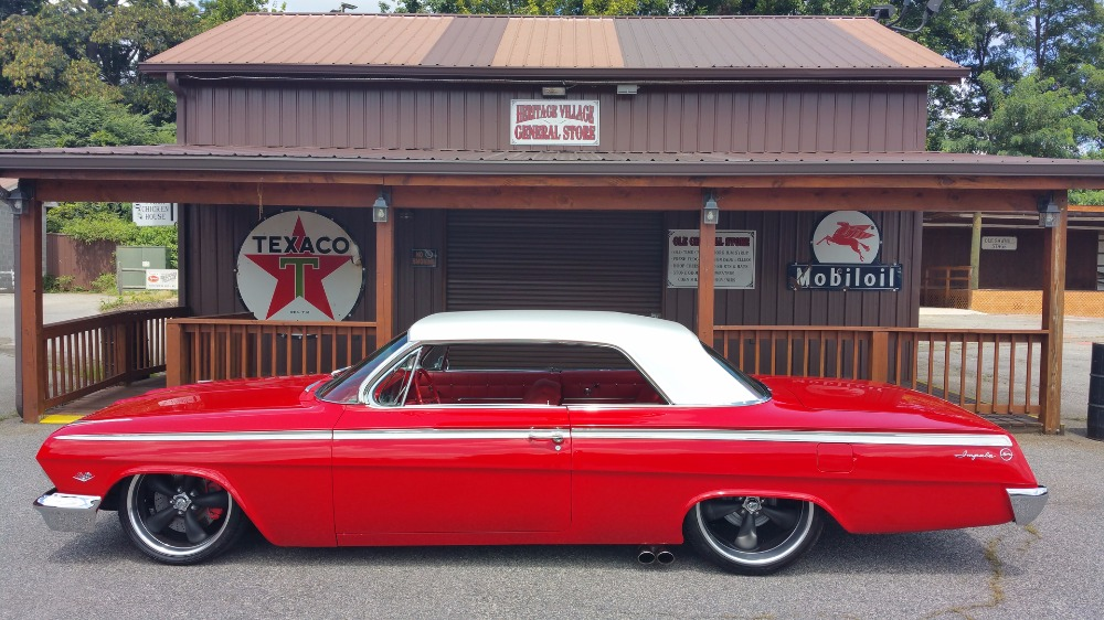 Photo 1962 Chevrolet Impala -BLUEPRINTED 350 V8 AUTOMATIC-PRO TOURING STYLE-