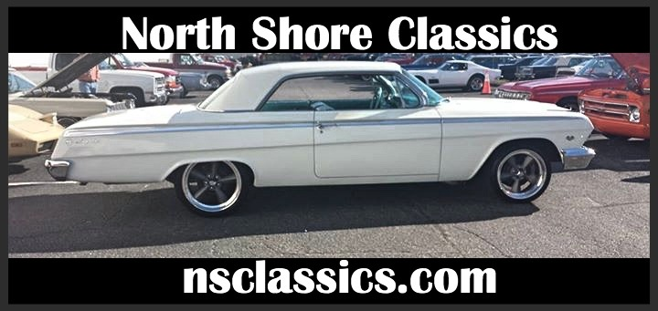 Photo 1962 Chevrolet Impala - FRESH 355 V8 WITH A 4-SPEED MANUAL TRANS-