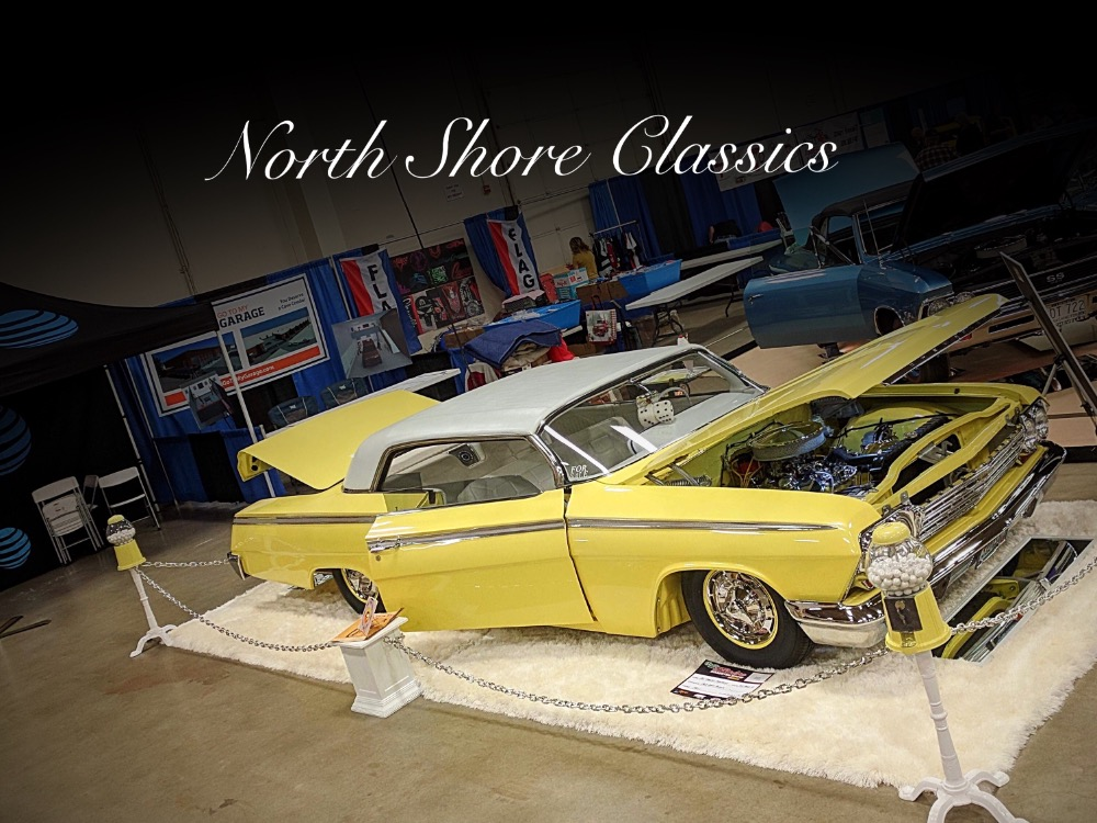 Photo 1962 Chevrolet Impala -FRAME OFF RESTO-SHOW CAR CUSTOM IMPALA-
