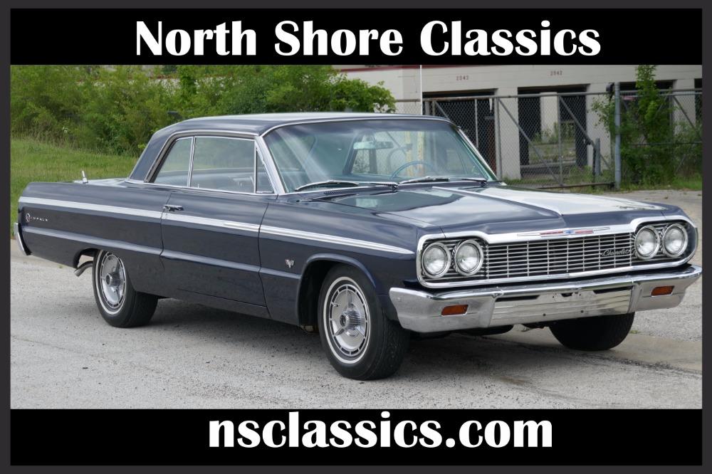 Photo 1964 Chevrolet Impala -327 V8 POWER GLIDE AUTOMATIC -SEE VIDEO