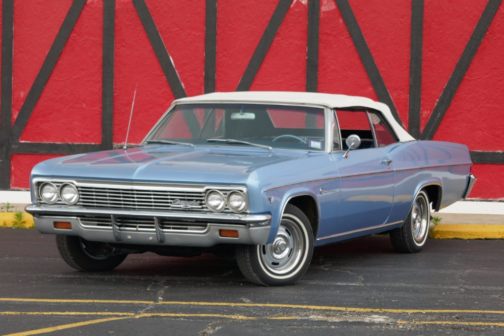 Photo 1966 Chevrolet Impala -SUPER CLEAN SOUTHERN CONVERTIBLE-TRUE CLASSIC-2 OWNER CAR-SEE VIDEO-
