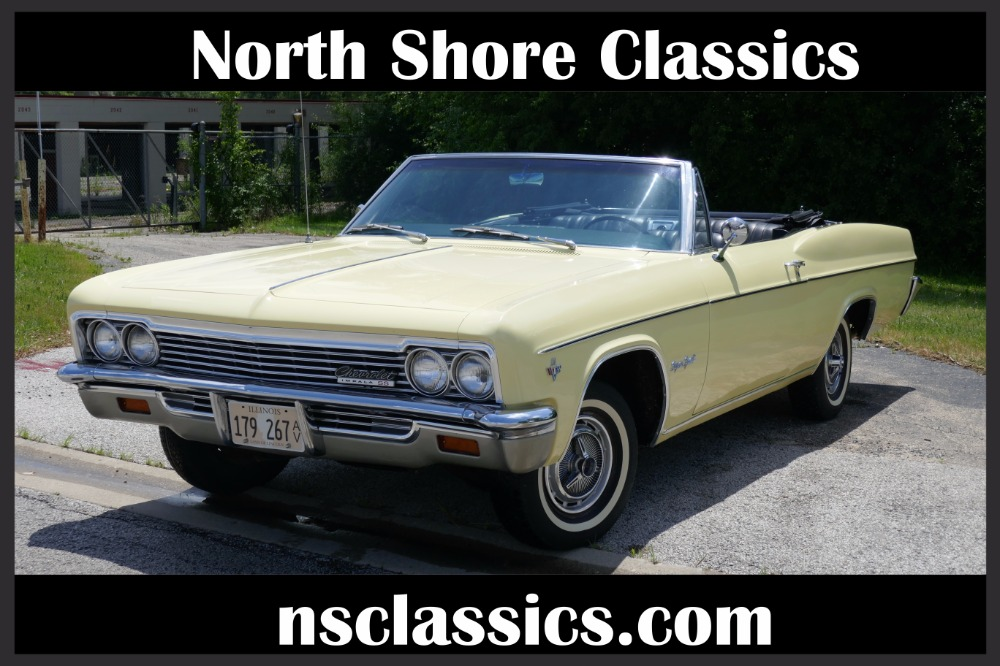 Photo 1966 Chevrolet Impala -PRICE DROP-CONVERTIBLE CRUISER- SEE VIDEO