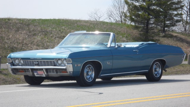 Photo 1968 Chevrolet Impala SS 427 Tribute-CONVERTIBLE- SEE VIDEO