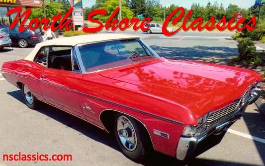 Photo 1968 Chevrolet Impala -DOCUMENTED CANADIAN BUILD-