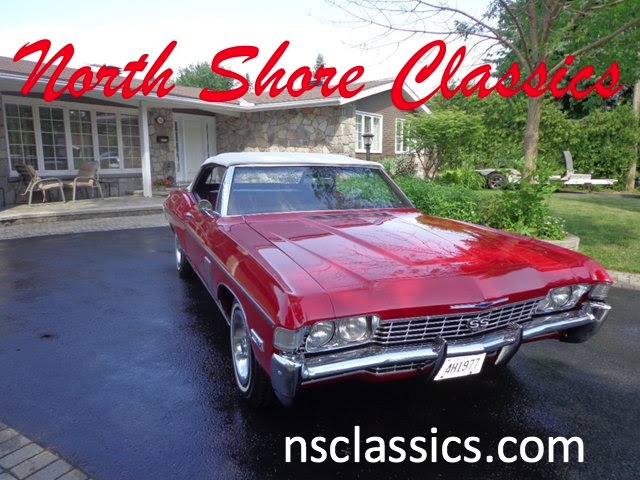 Photo 1968 Chevrolet Impala -SS 427 CONVERTIBLE -SHOW STOPPER- 2 Owners-