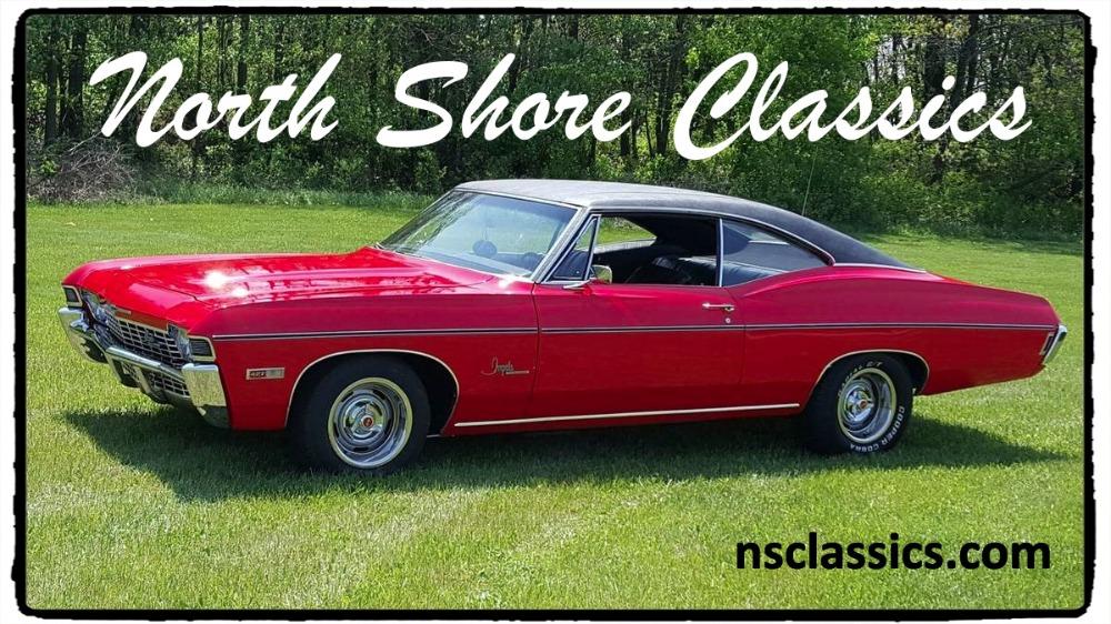 Photo 1968 Chevrolet Impala -SS-SHOW STOPPER-