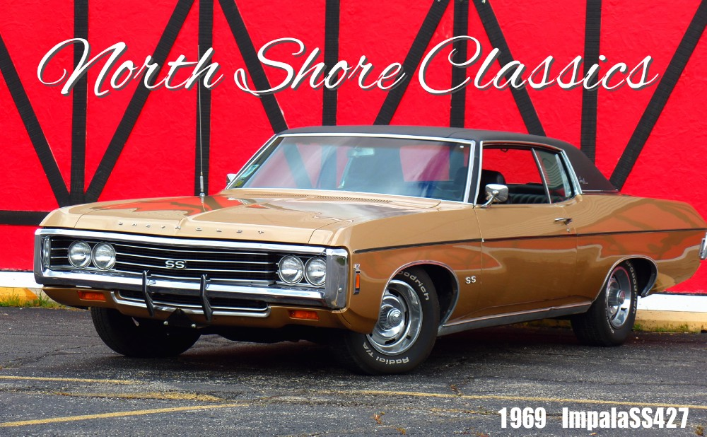 Photo 1969 Chevrolet Impala SS427 Coupe-1 of 51 Built-VERY RARE-SEE VIDEO