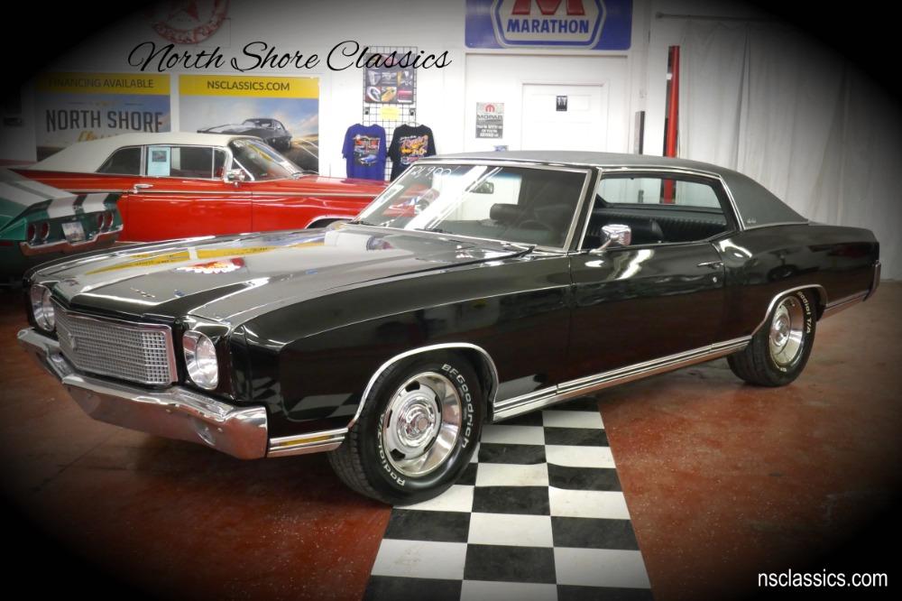Photo 1970 Chevrolet Monte Carlo -TRIPLE BLACK NICE CONDITION 454 BIG BLOCK-