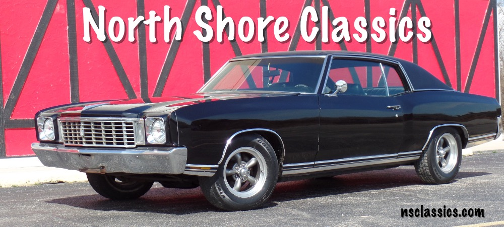 Photo 1972 Chevrolet Monte Carlo Black on Black from Georgia- Super Clean Reliable