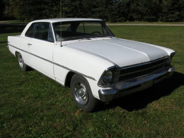 Photo 1967 Chevrolet Nova PROJECT CAR-Chevy II 2 door Hard Top- CAN BUILD FOR YOU