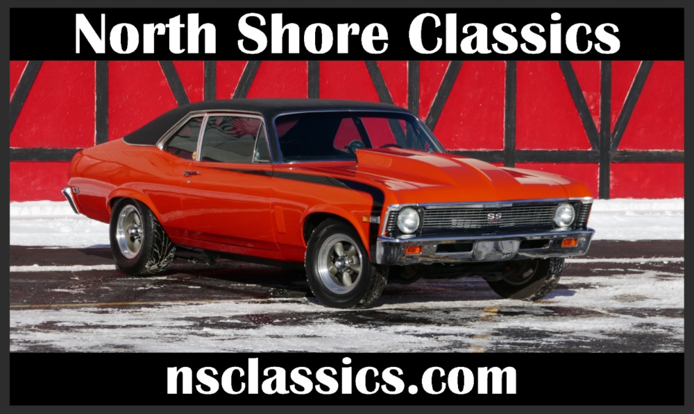 Photo 1969 Chevrolet Nova -BIG BLOCK 496 Hurst 4 Speed-NEW HUGGER ORANGE PAINT-SEE VIDEO