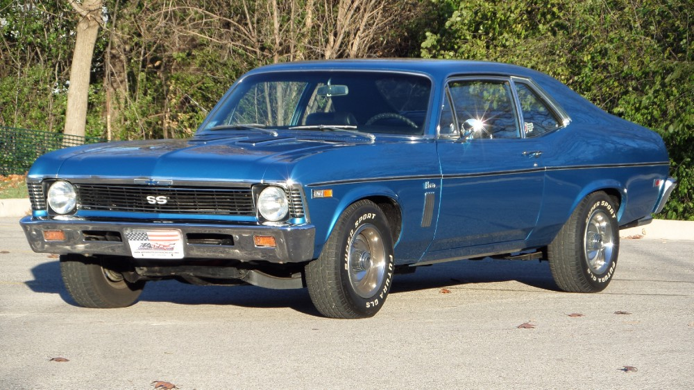 Photo 1969 Chevrolet Nova NEW LOWERED PRICE-TRADES OK-original SS 396 4 speed car-SEE VIDEOS