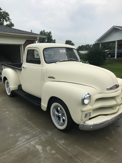 Photo 1955 Chevrolet Pickup -3100- EARLY FIRST SERIES PICK UP TRUCK- JUST PAINTED BLONDE SATIN-