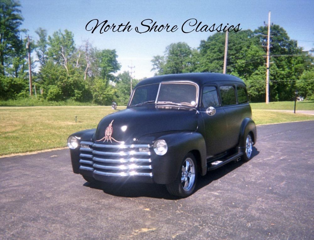 Photo 1948 Chevrolet Suburban -SATIN BLACK - VINTAGE HEAT AND AC