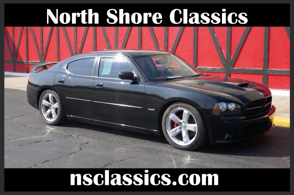 Photo 2006 Dodge Charger -SRT8-ONE OWNER-755 HP AT THE WHEELS- SUPERCHARGED-MODERN MUSCLE-