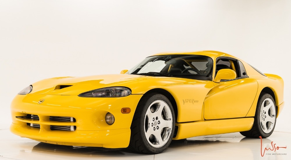 Photo 2001 Dodge Viper -GTS-SUPERCHARGED-COUPE-FROM ARIZONA