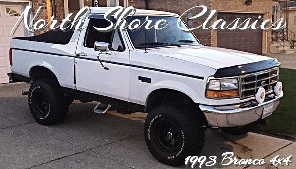 Photo 1993 Ford Bronco Fully Restored and Modified