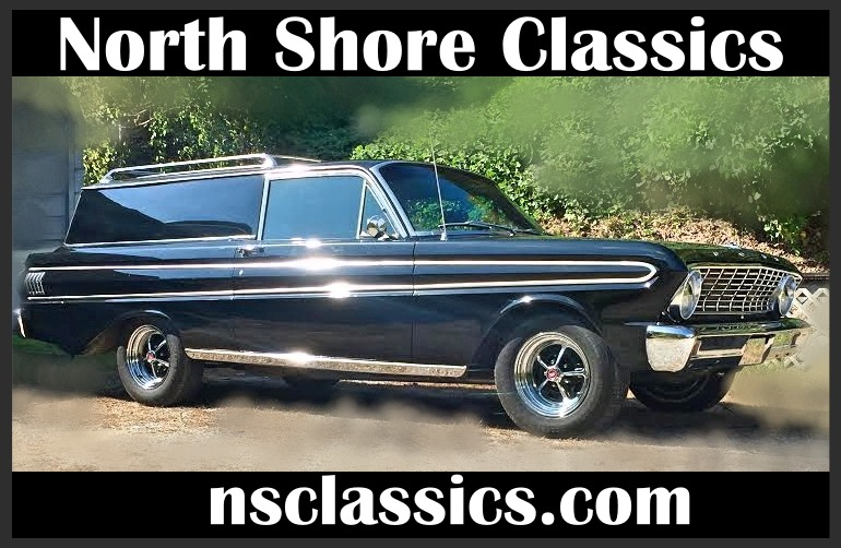 Photo 1964 Ford Falcon - SPRINT EDITION- DELIVERY WAGON WITH LOW MILES ON NEWER BUILD-