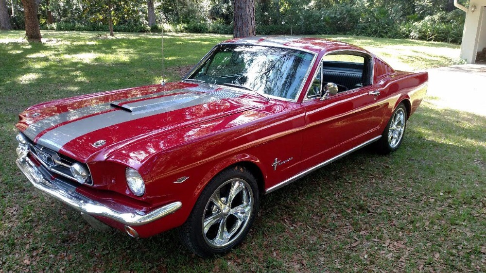 Photo 1965 Ford Mustang -FASTBACK 22- 289-REAL NICE STANG-