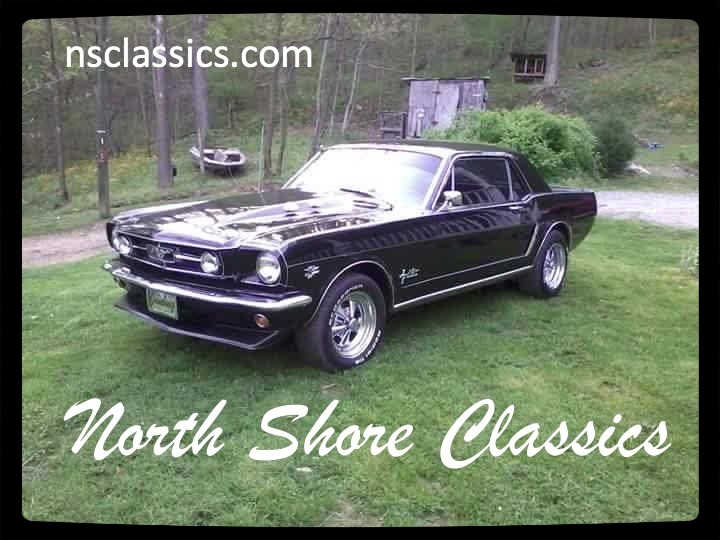 Photo 1965 Ford Mustang -BLACK ON BLACK -
