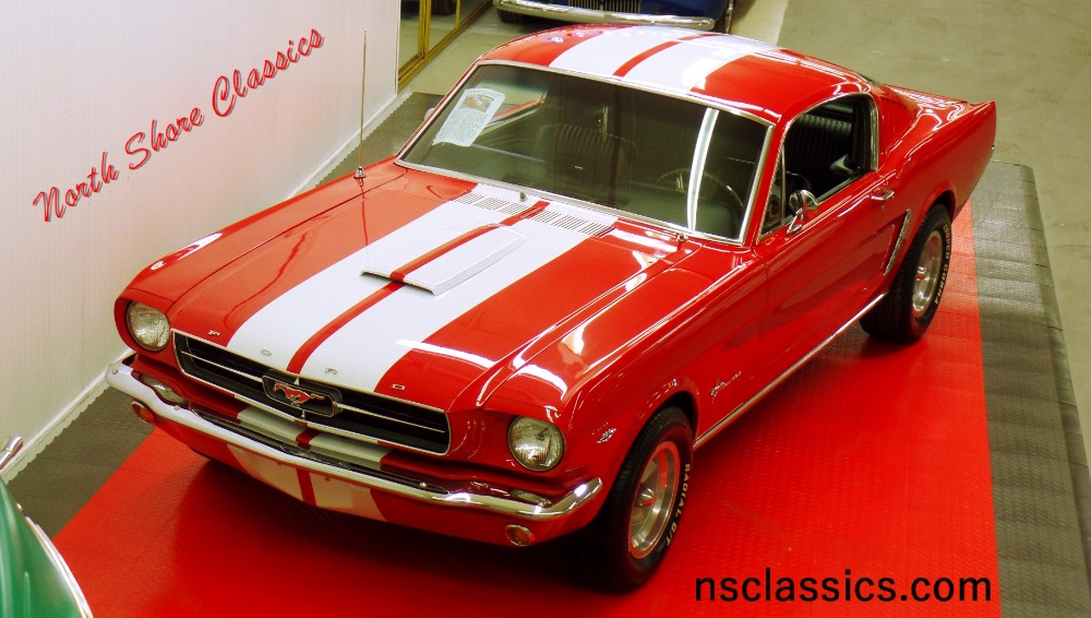 Photo 1965 Ford Mustang FASTBACK 22-NEW PAINT