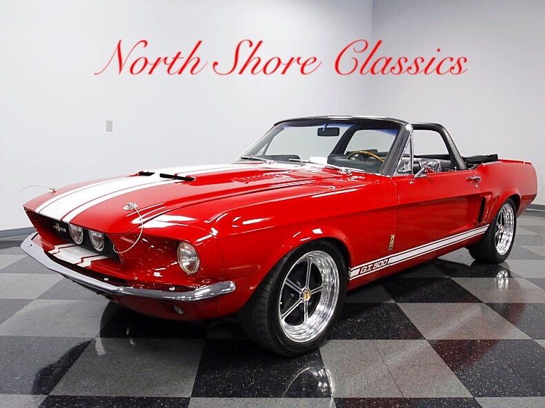 Photo 1967 Ford Mustang -GT 500 CLONE-CONVERTIBLE SUPERCHARGED-