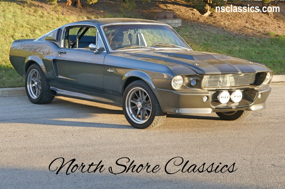 Photo 1968 Ford Mustang -FACTORY S CODE-ELEANOR FASTBACK 390 with 4 SPEED-MINT CONDITION- SEE VIDEO