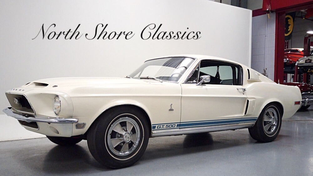 Photo 1968 Ford Mustang -GT 500 S44 TRUE WHITE ORIGINAL- 1663 SHELBY-DOCUMENTED-
