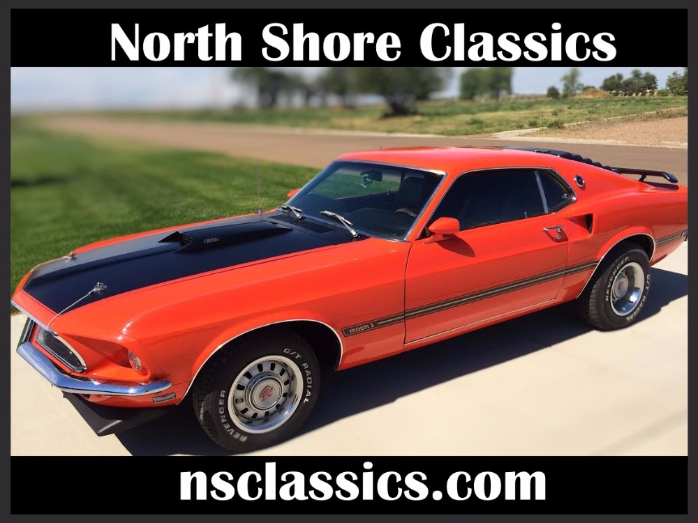Photo 1969 Ford Mustang -MACH 1-TWO OWNER-351 WINSOR-H-CODE-MUSCLE CAR-