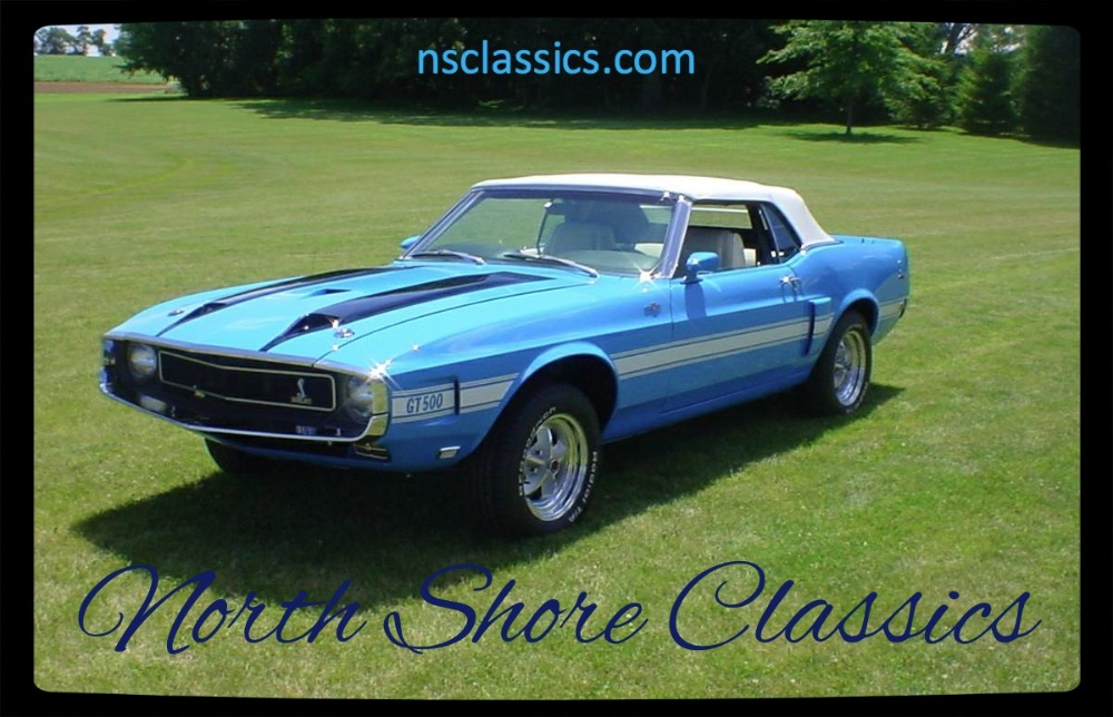 Photo 1969 Ford Mustang - BEAUTIFUL NEW RESTORATION- SHELBY GT500 REPLICA-