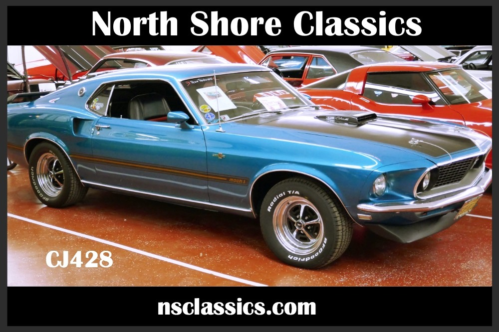 Photo 1969 Ford Mustang REAL DEAL 428 CJ-COBRA JET-4 SPEED-NEW LOW PRICE-SEE VIDEO