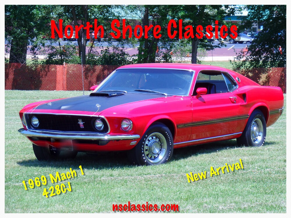 Photo 1969 Ford Mustang 428 COBRA JET-MACH 1-SHOWROOM QUALITY CONDITION-SEE VIDEO