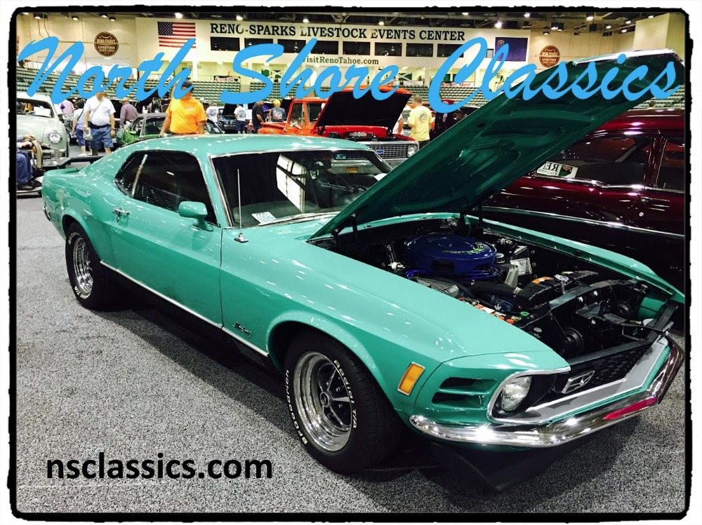 Photo 1970 Ford Mustang MACH 1- 428 COBRA JET ENGINE-MARTI REPORT