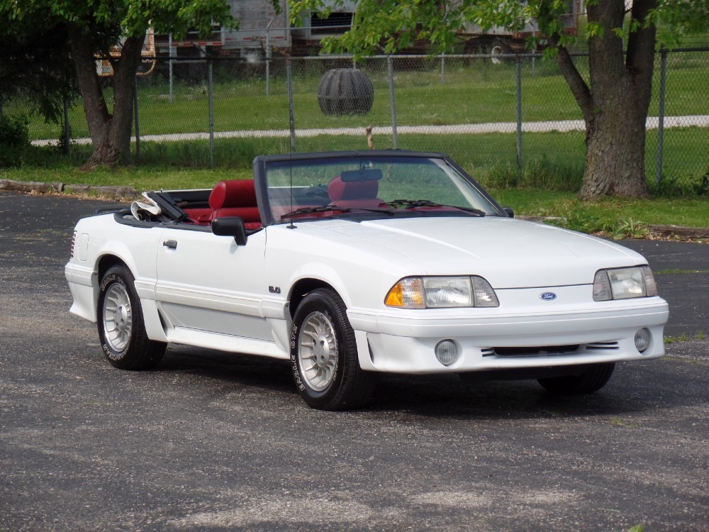 1989 Mustang Gt Convertible For Sale