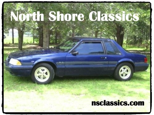 Photo 1993 Ford Mustang -LX Notchback Police Interceptor Special Service Package-Daily Driver-
