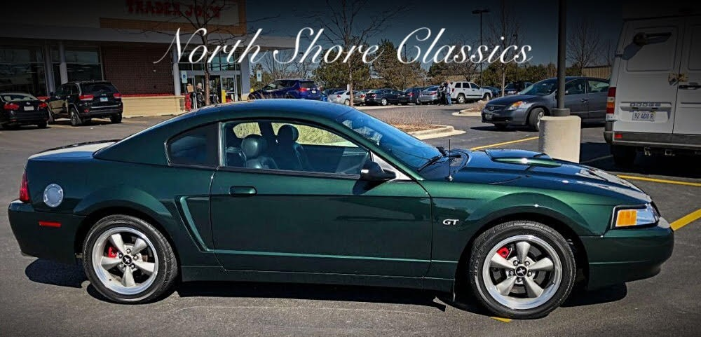 Photo 2001 Ford Mustang -BULLITT- GT Dark Highland Green with only 15680 miles