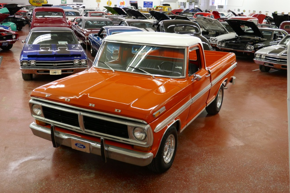 Photo 1972 Ford Ranger F100 -XLT-CLEAN SOLID-NORTH CAROLINA PICK UP TRUCK-READY WORK OR PLAY-SEE VIDEO