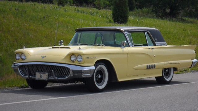 Photo 1958 Ford Thunderbird RARE-SEE VIDEO-Returned