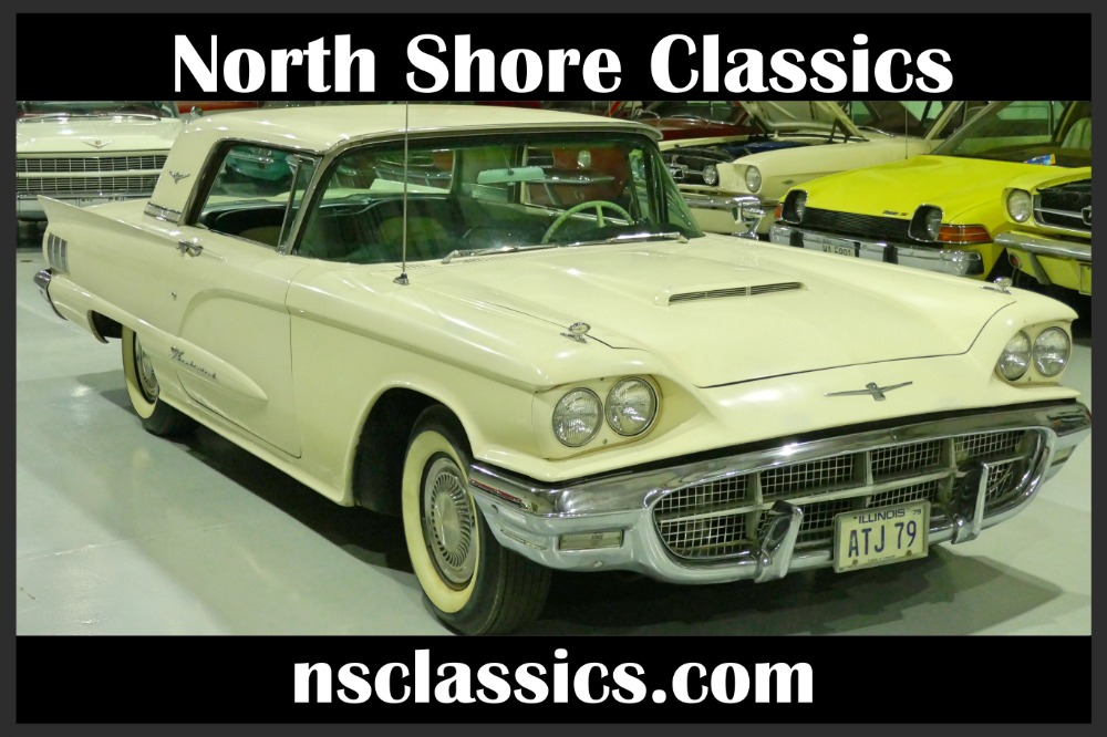 Photo 1960 Ford Thunderbird -CALIFORNIA CLASSIC- SAME OWNER OVER 40YEARS - FACTORY 3 SPEED WOD-SEE VID