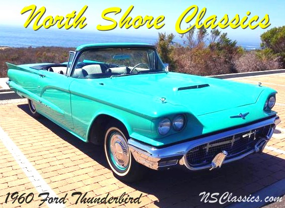 Photo 1960 Ford Thunderbird ROADSTER PARADE CAR FROM SOUTHERN CALIFORNIA-OWNED BY SONNY BONO