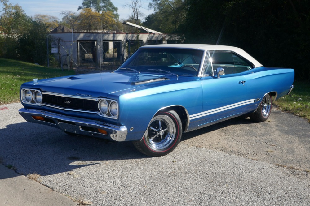 Photo 1968 Plymouth GTX -DOCUMENTED MOPAR-4406PACK-RARE COLOR COMBO-SEE VIDEO